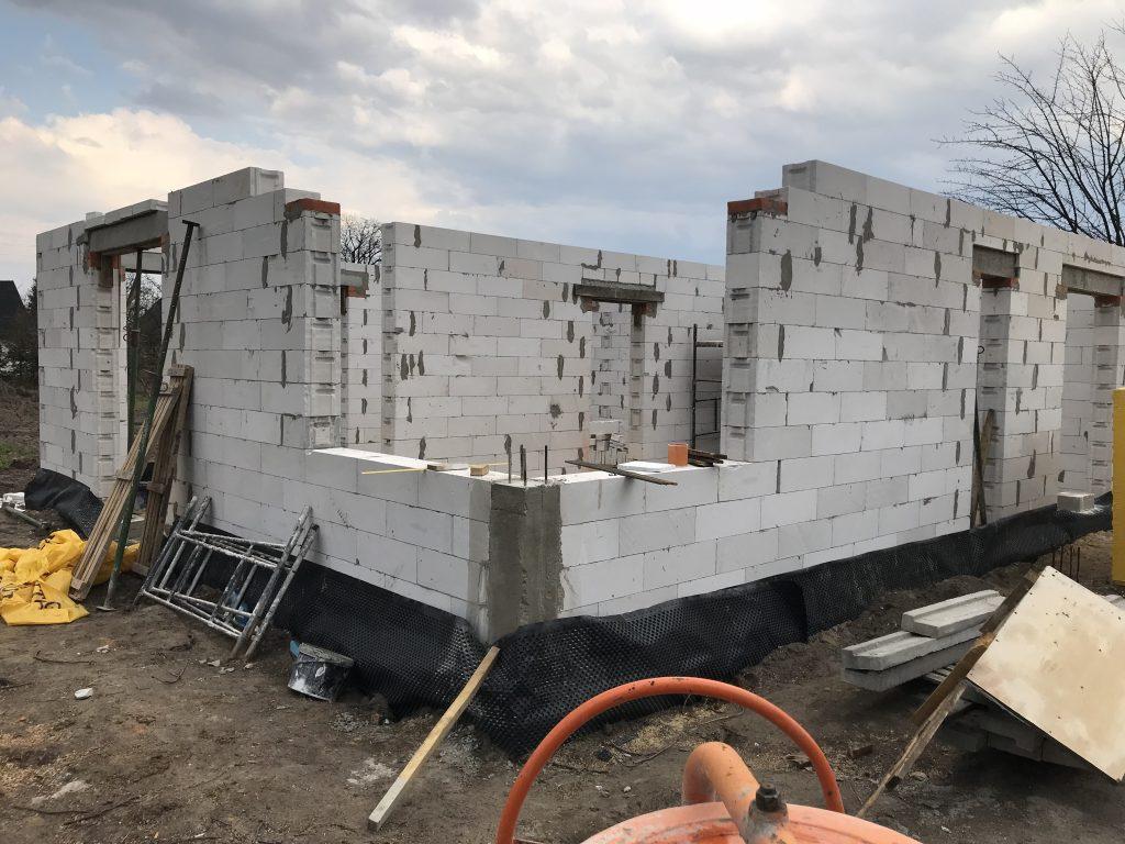 Ściany nośne - koszt budowy cz.2